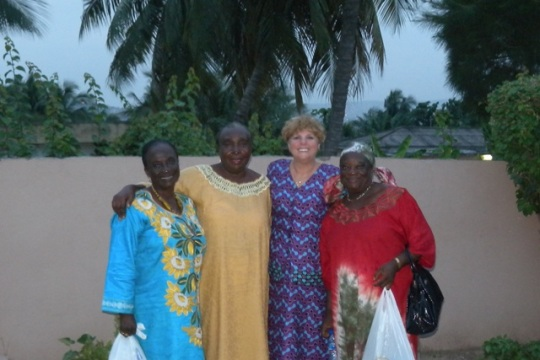 My good friends in Ghana