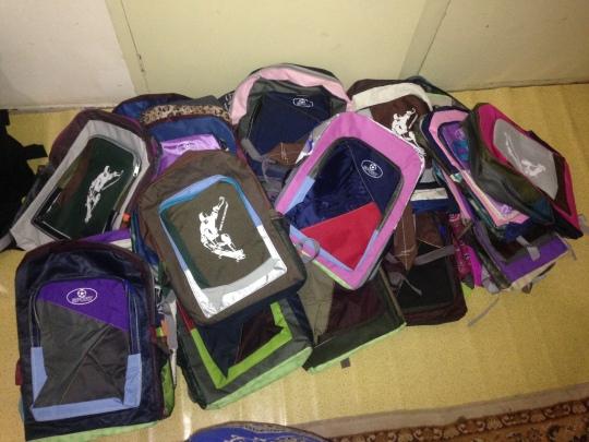 Back packs